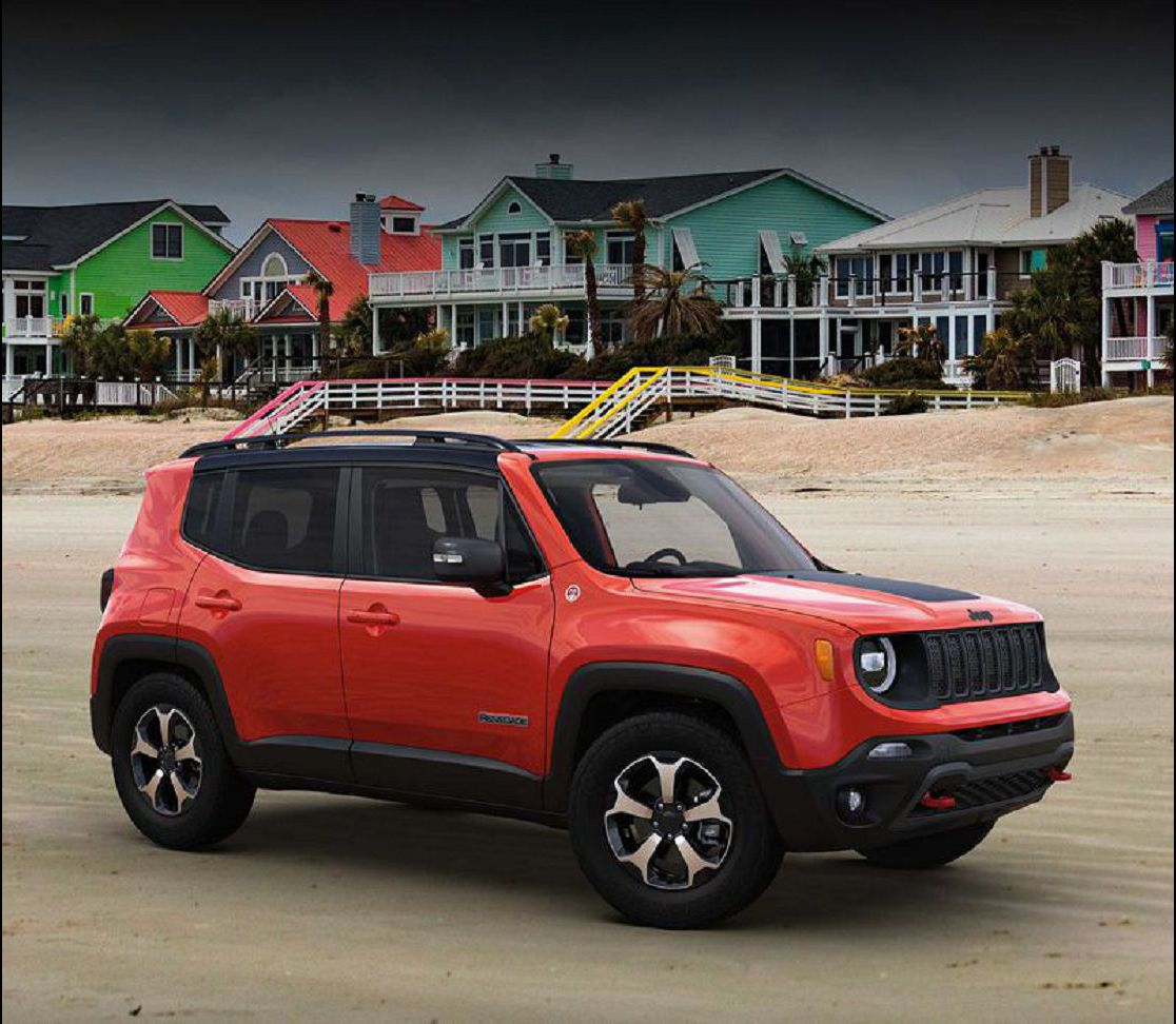 2020 Jeep Renegade Tail Light Upland 4x4 Easter Eggs Roof Rack Phone Mount