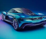 2022 Aston Martin Vanquish Vision Coupe Exhaust Sound Review Model