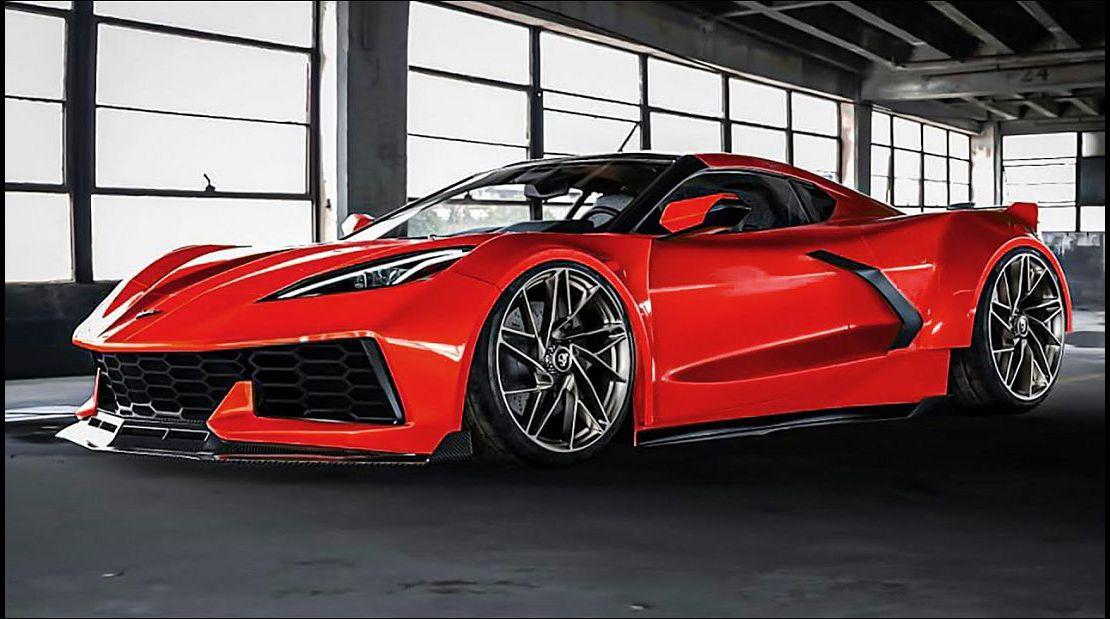 2022 C8 Corvette Z06 Pic Reveal Accessories Acceleration