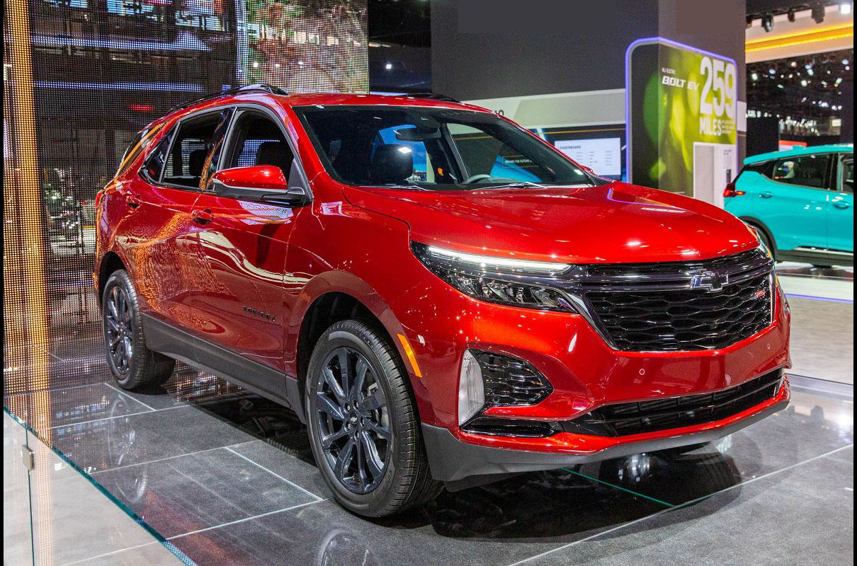2022 Chevrolet Equinox Rating Cajun Red Awd Lt Vin