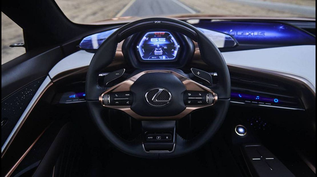 2022 Lexus Lq Dealership Lane Trace Assist Code