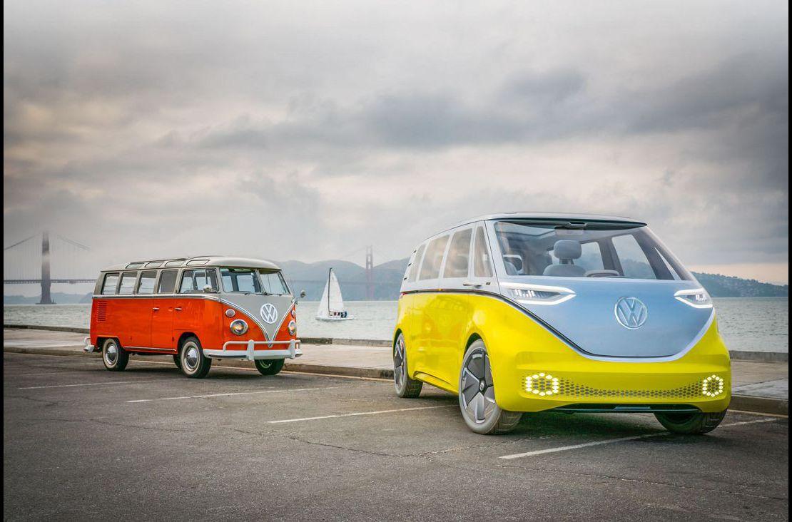 2022 Vw I.d. Buzz Cargo Electric Concept Vizzion Hatchback