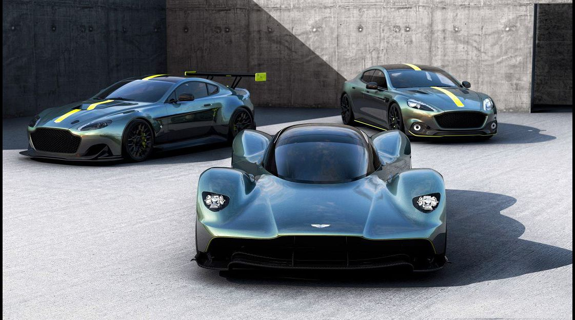2021 Aston Martin Valkyrie Car 3 Classic Parts 2018 Engine