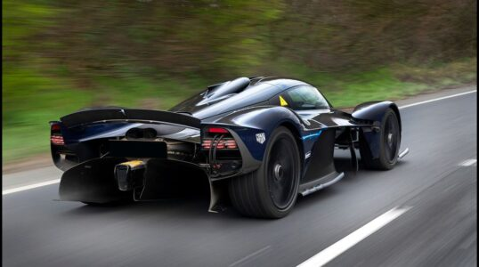 2021 Aston Martin Valkyrie Cost Front Valkyrie's Hp Mpg Toy