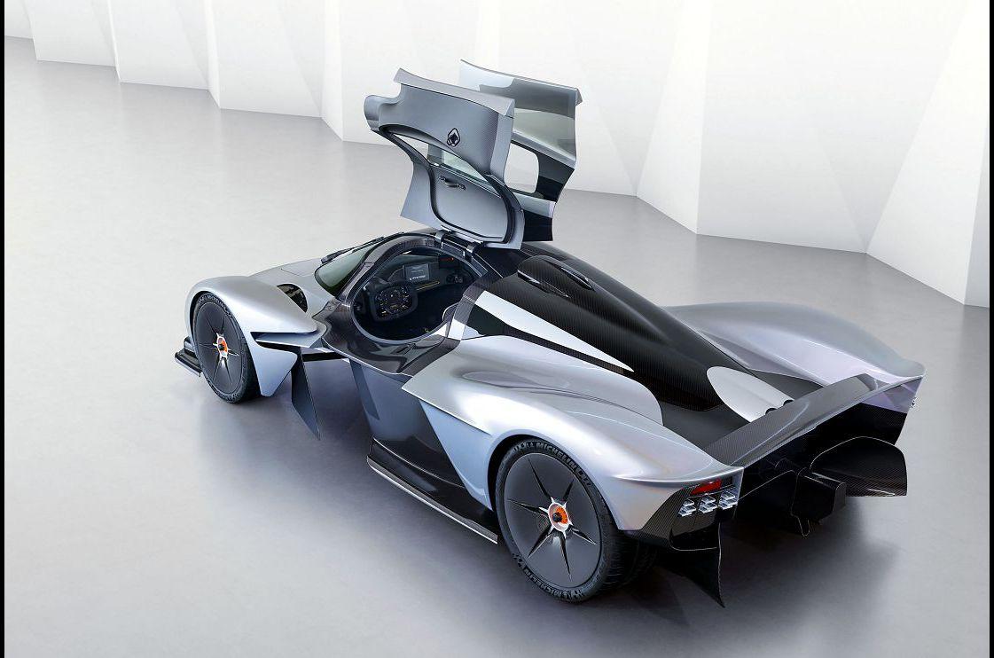 2021 Aston Martin Valkyrie Wheels Poster Interior Underbody Channels Weight
