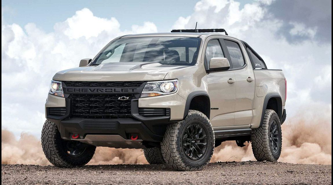 2021 Chevy Colorado Zr2 Bison Clearance Gas Mileage Vs Jeep Gladiator