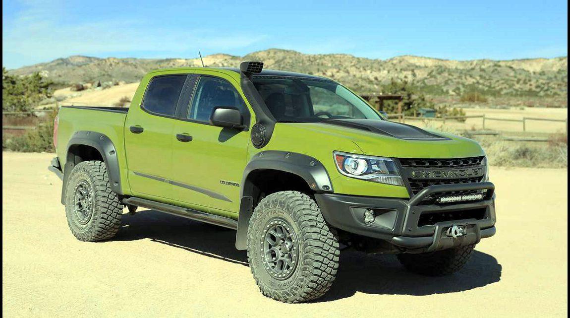 2021 Chevy Colorado Zr2 Bison Towing Capacity Specs Accessories In Arizona