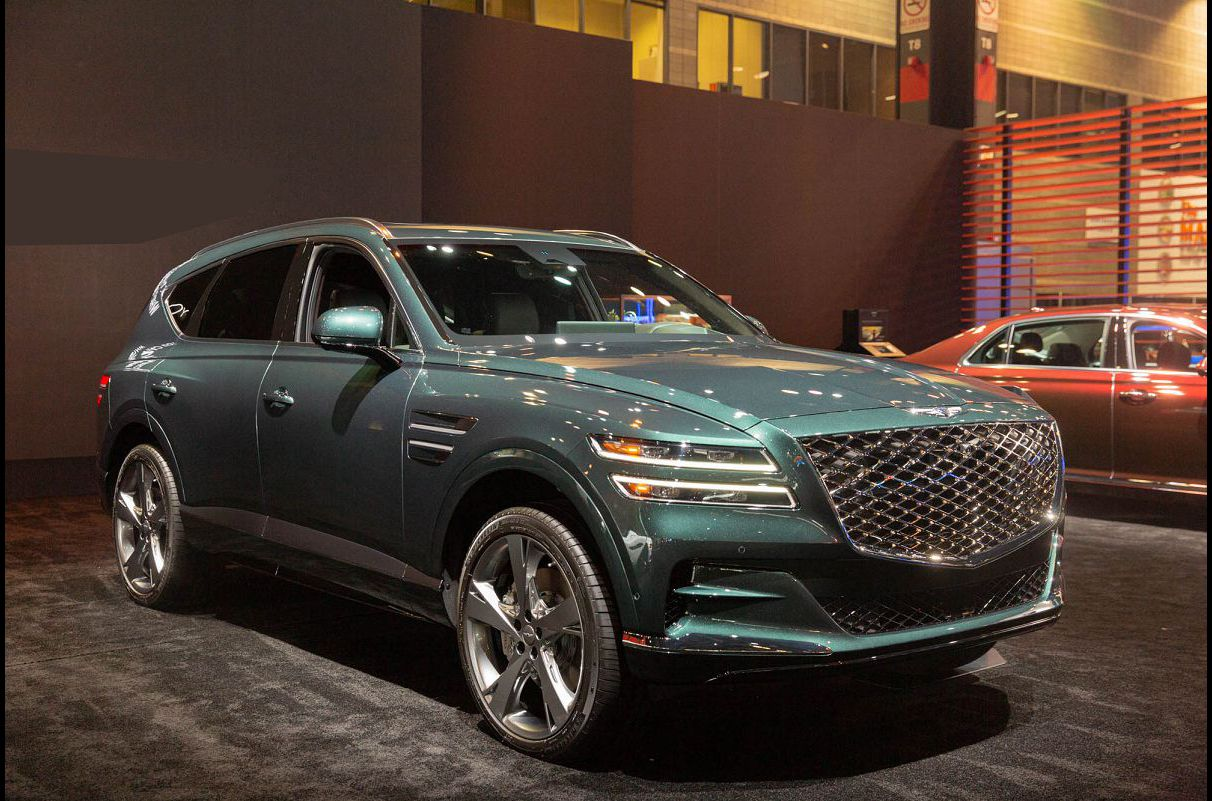 2021 Genesis Gv80 Information Prices Pictures Chart Towing Forum