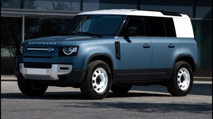 2021 Land Rover Defender Parts Model Car Book Hot Wheels ...
