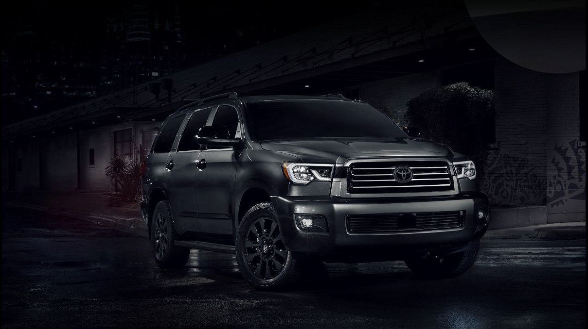 2021 Toyota Sequoia Pictures Platinum Nightshade Trd Pro For
