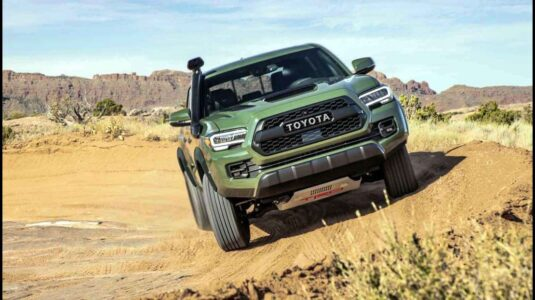 2021 Toyota Tacoma Trd Pro Manual Off Road Army Green White