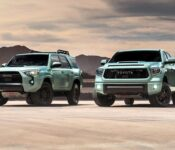 2021 Toyota Tacoma Trd Pro Vs Lifted Exhaust Accessories Stickers Grille