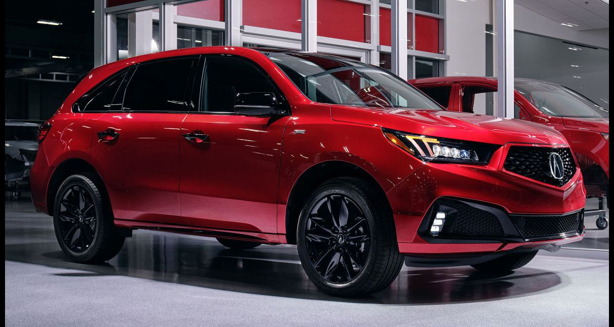 2022 Acura Mdx System List Price With Advance Package