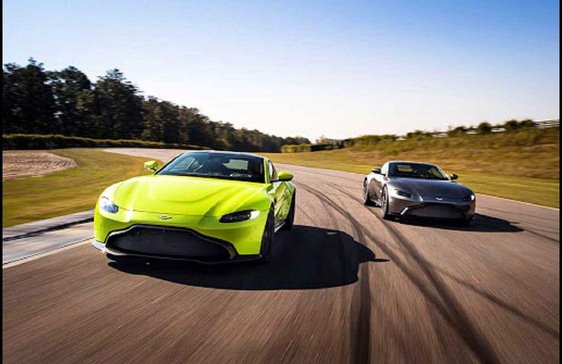 2022 Aston Martin Vantage Convertible Exhaust Pov Model Car Diecast