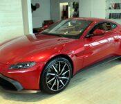 2022 Aston Martin Vantage Manual Interior Roadster Horsepower X Pipe
