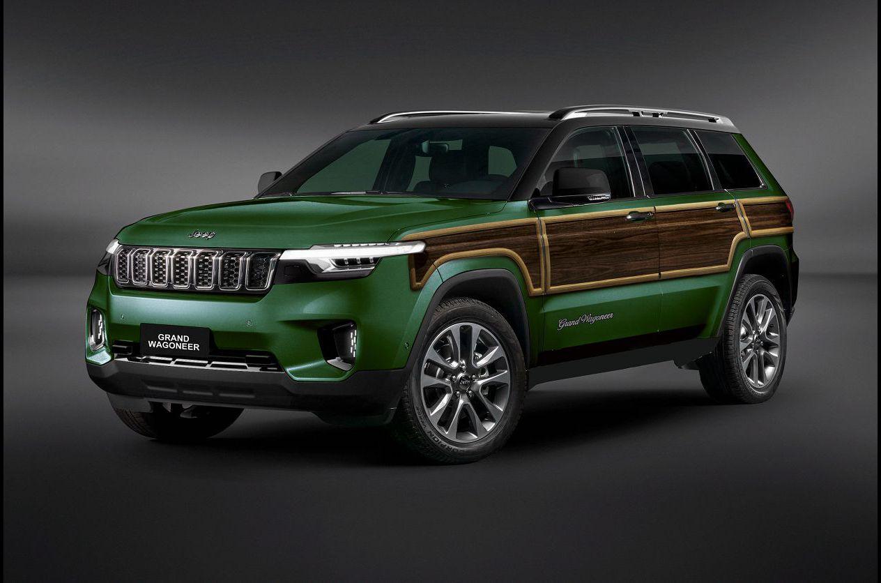 2022 Jeep Grand Wagoneer Date Rendering Reveal Towing Capacity Forum