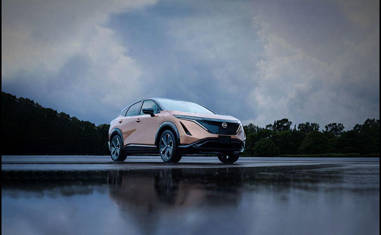 2022 Nissan Ariya Dimensions Colors Production