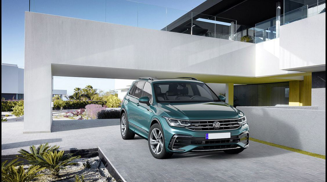 2022 Vw Tiguan Date Facelift New First Look On