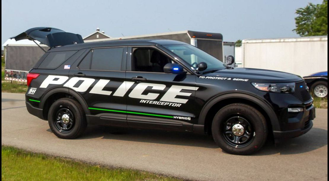 2020 ford police interceptor utility suv explorer hybrid