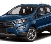 2021 Ford Ecosport Nào St Line Model Mexico Ra