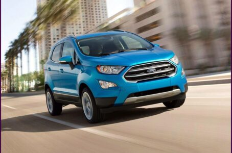 2021 Ford Ecosport Usa Titanium Colors Release Date Review