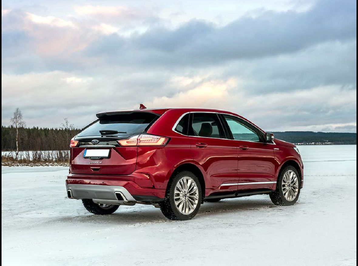2021 Ford Edge The Redesigned New There A Black