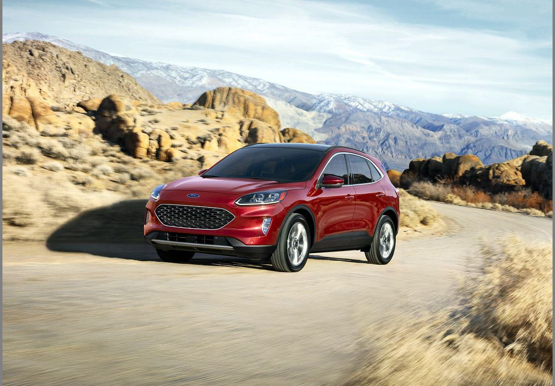2021 Ford Escape Car Driver Color Chart Towing Capacity
