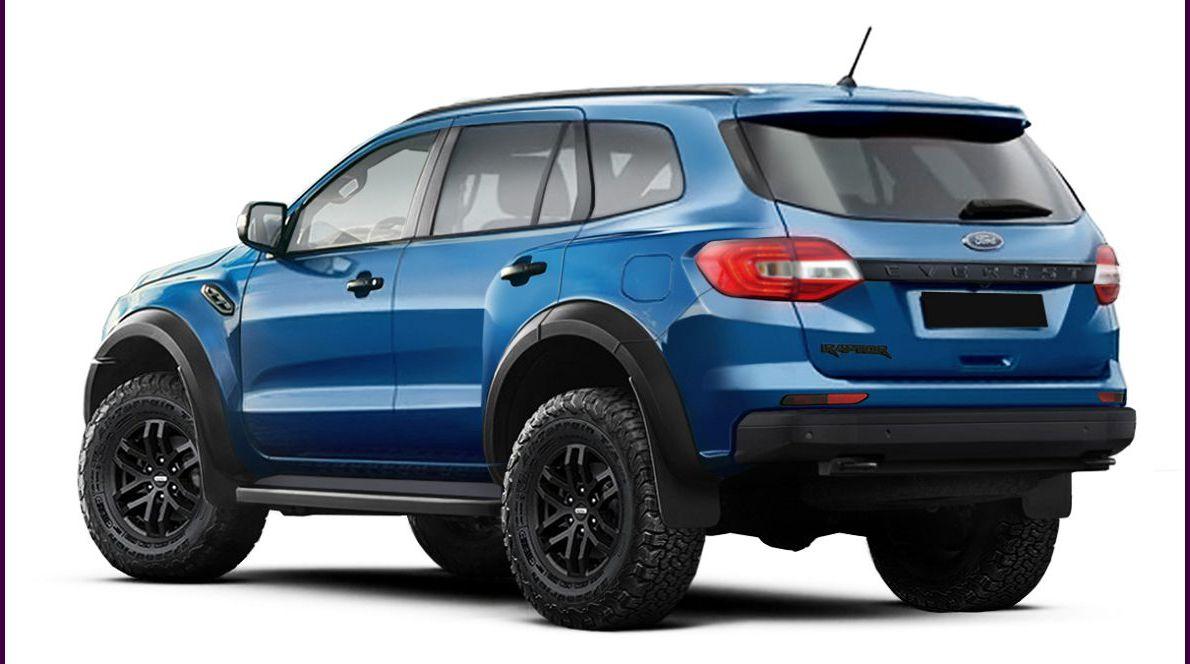 2021 Ford Everest Khau Leaked Mới Máy Xăng Xe