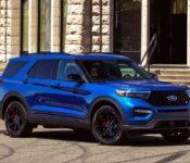 2021 Ford Explorer Black Brochure Blue Base Model Blackout