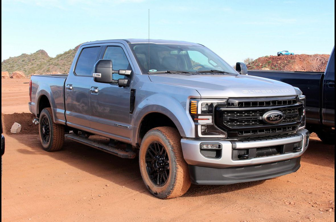 2021 Ford F 250 Tremor Colors Limited Crew Cab Super