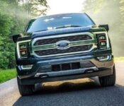 2021 Ford F150 Date Antimatter Blue All American Flag