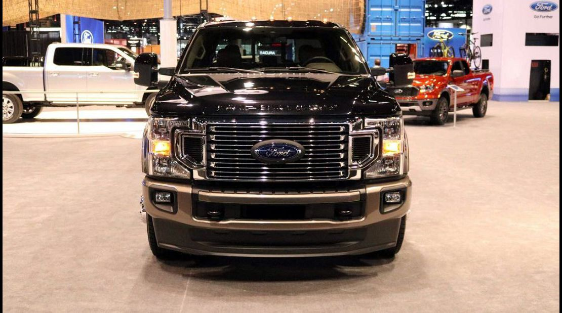 2021 Ford F350 Brochure Color Options Crew Chart Changes