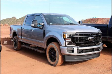 2021 Ford Super Duty Antimatter Blue When Will Be Available