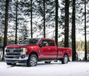 2021 Ford Super Duty Carbonized Gray Color Options Chart Configurator