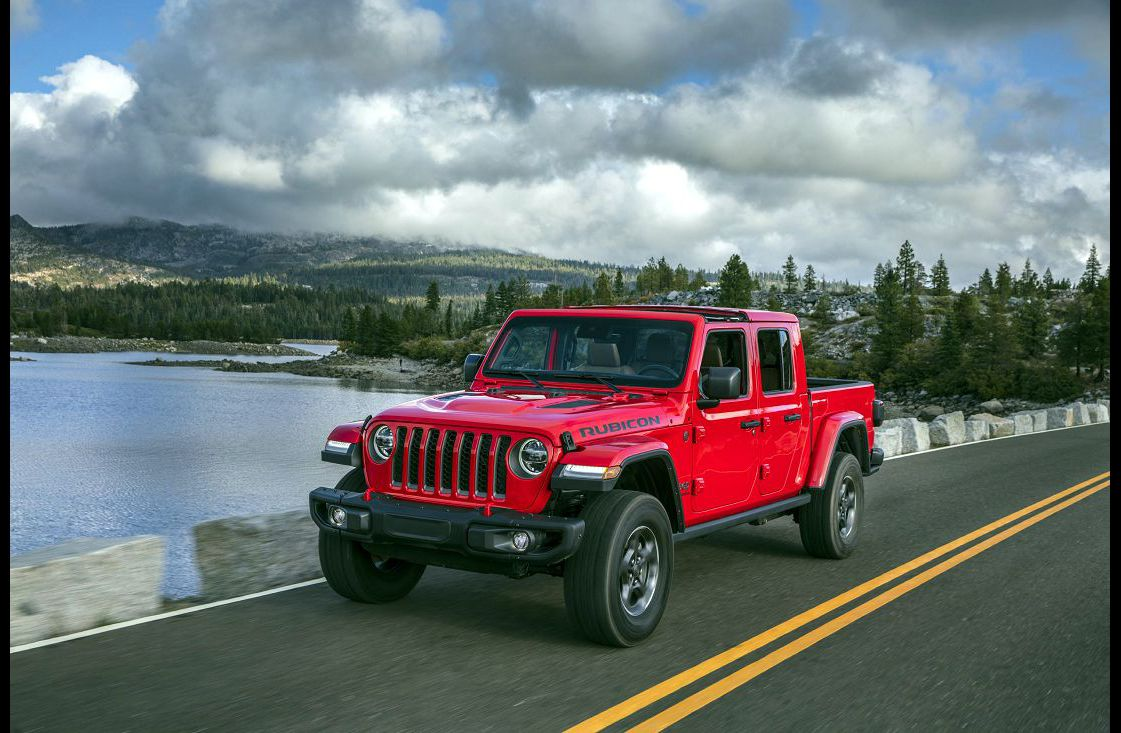 2021 Jeep Gladiator Chart Colours Specs For Sale Mpg