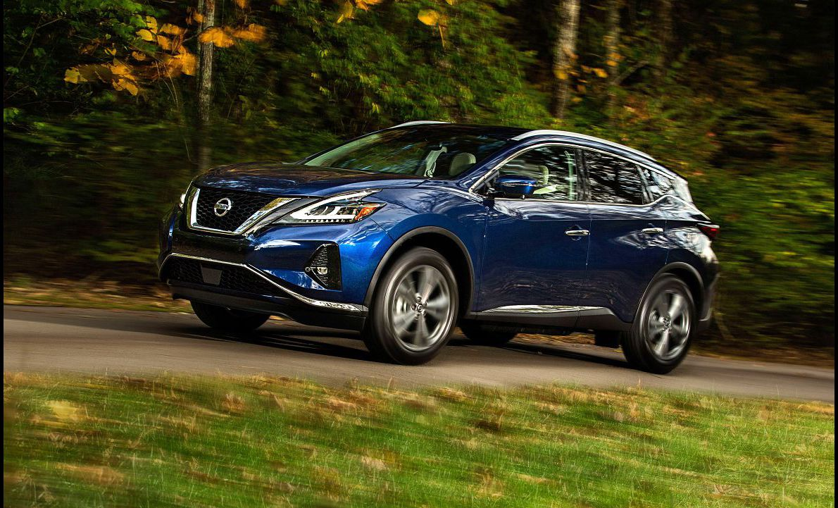 2021 Nissan Murano Build A There The Transmission Competitors