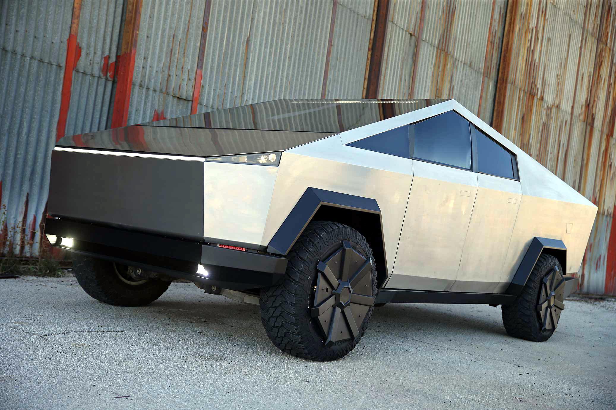 2021 Tesla Cybertruck Black Buy Life B Model Camper