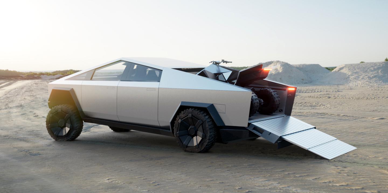 2021 Tesla Cybertruck Meme Concept Availability Atv Announcement Accident