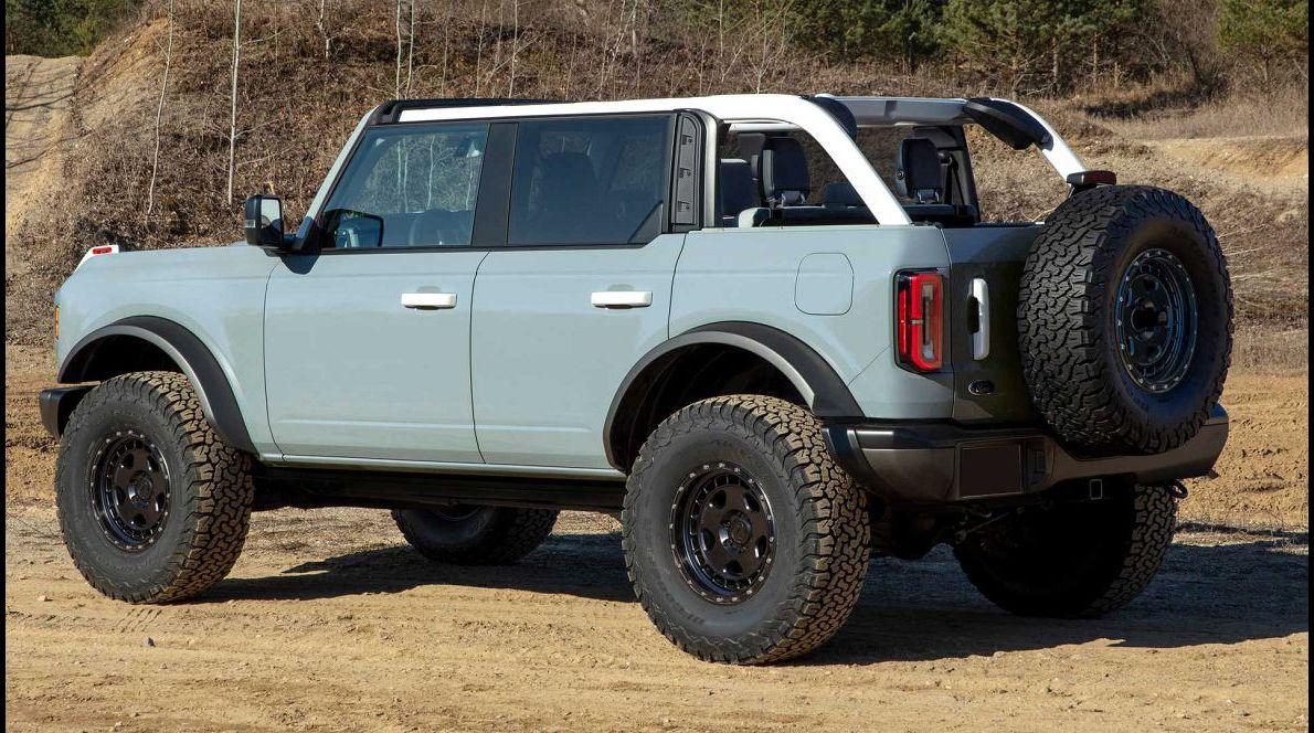 2022 Ford Bronco 2023 For Sale Gas Mileage Interior