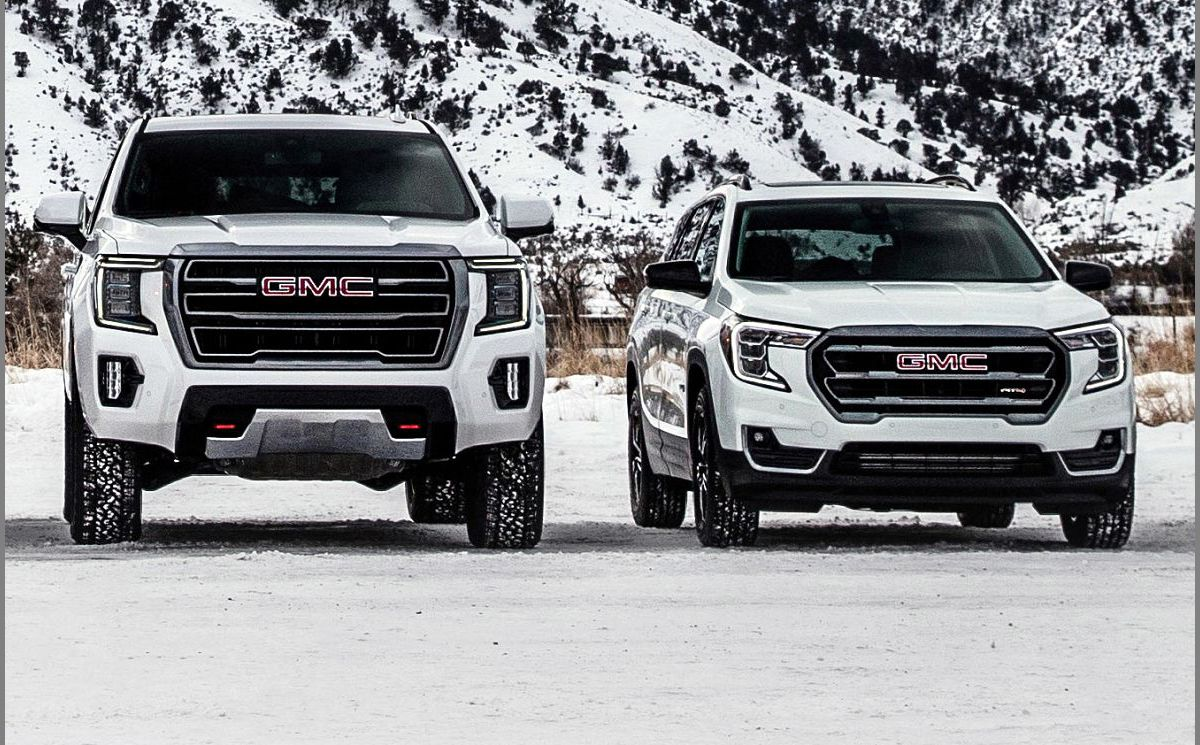 2022 Gmc Terrain Awd At4 Aftermarket Auto Stop All Black