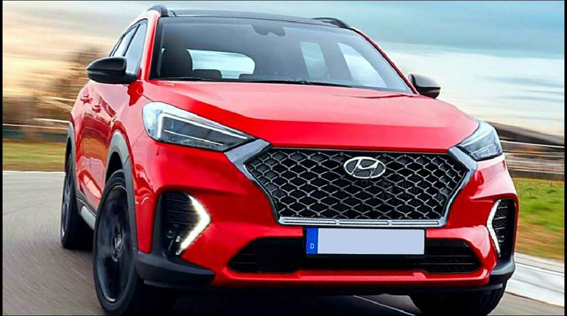 2022 Hyundai Tucson 2109 Images India Is Coming Length