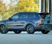 2022 Kia Telluride Spy Photos Platinum Hybrid Interior Engine