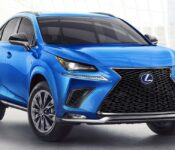 2022 Lexus Nx Bike Rack Blue Base Body Kit