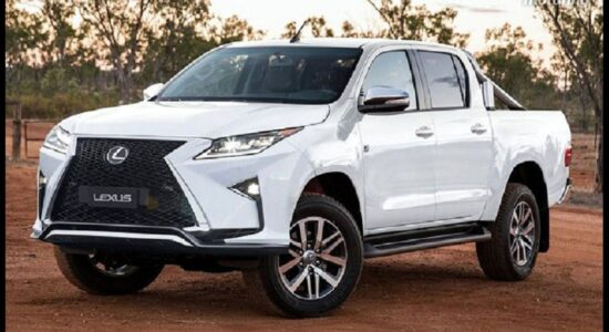 2022 Lexus Truck цена Lease Is There How Much