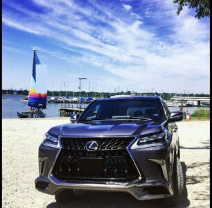 2022 Lexus Truck All Black Atlanta Auto Night In