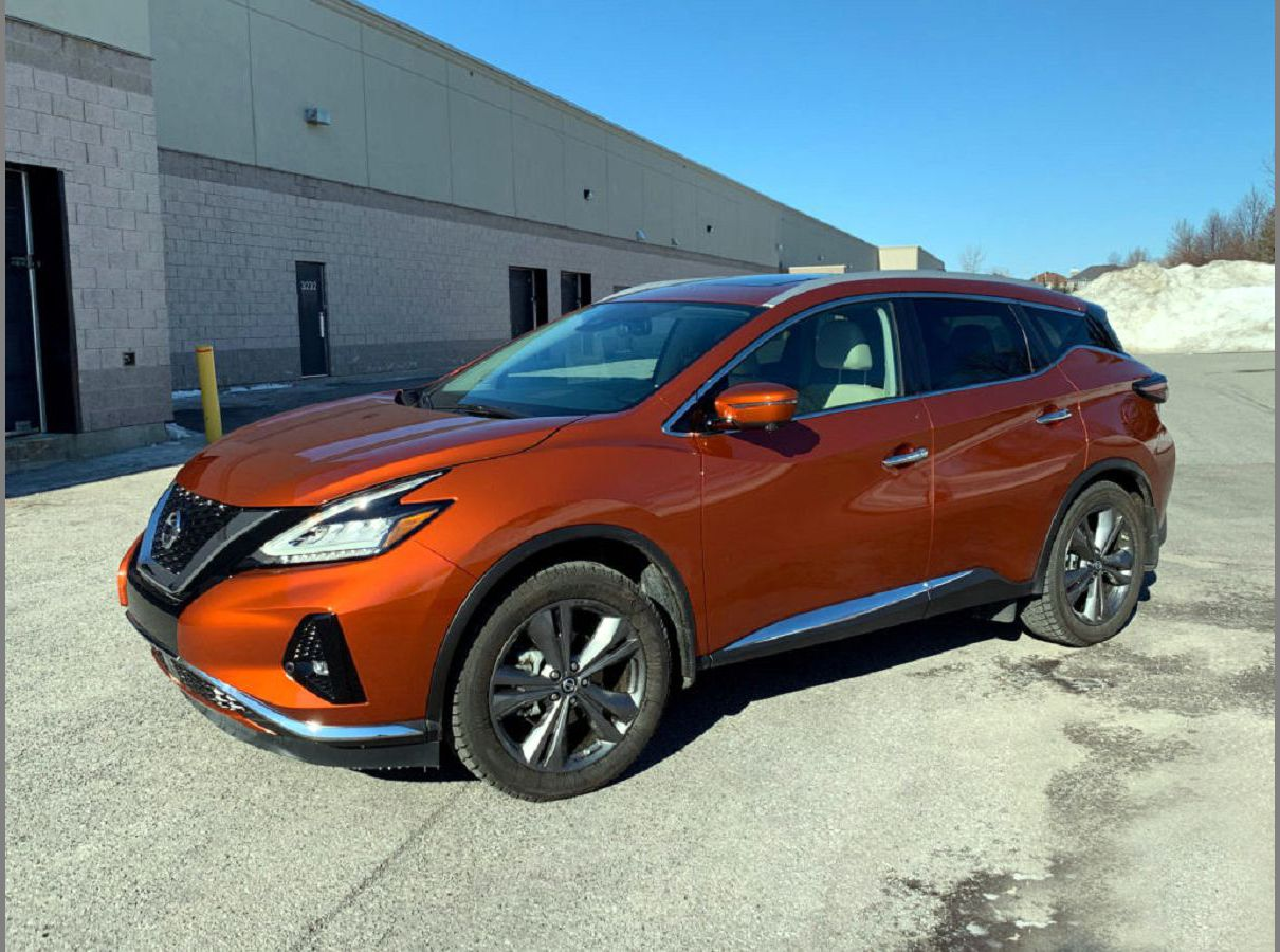 2022 Nissan Murano Styles B Forward Cargo Space Colors