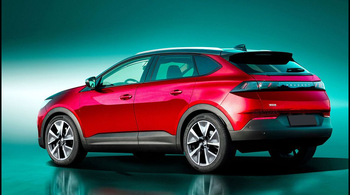 2022 Peugeot 3008 Seater Boot Space Black Battery Brochure