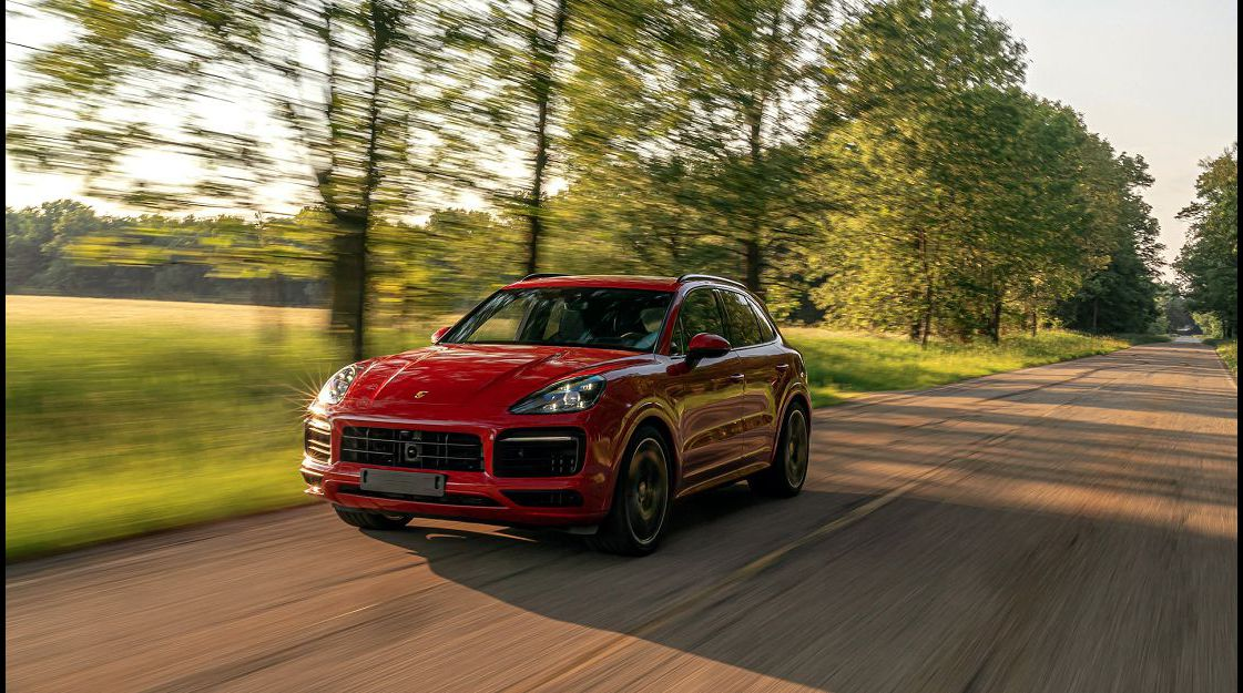 2022 Porsche Cayenne Base Location Body Kit Blue B Diesel