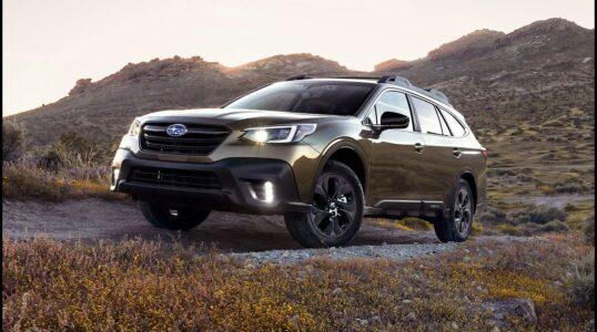 2022 Subaru Outback Awd Mattress All Terrain Tires The