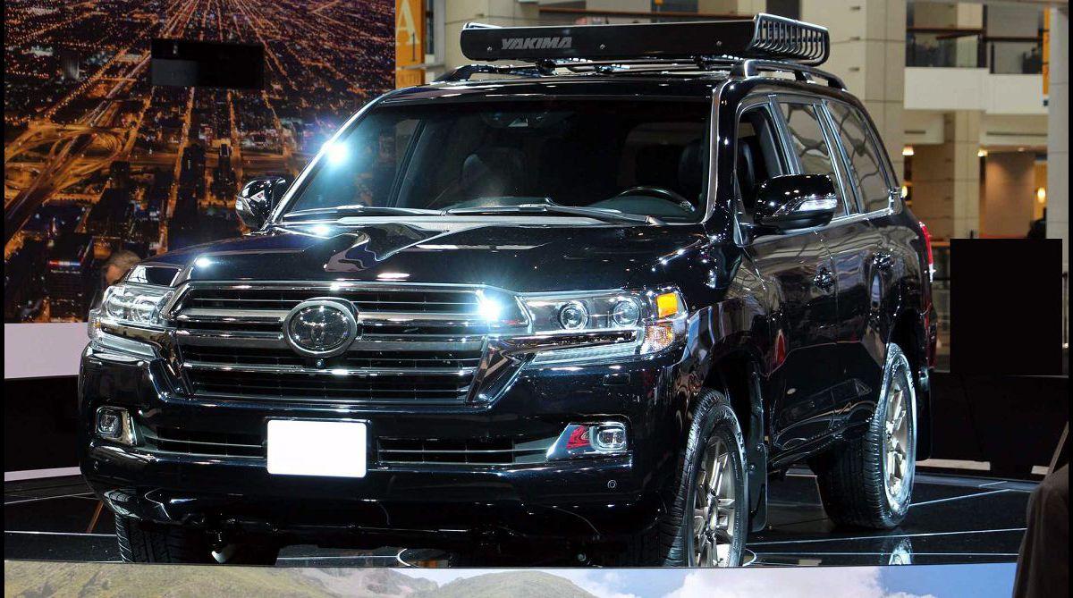 2022 Toyota Land Cruiser Spy Shots Cancelled V8 Redesign All